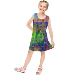 New York City Skyline Kids  Tunic Dress