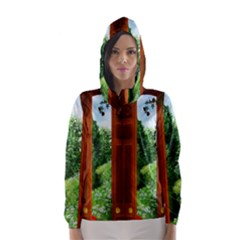 Beautiful World Entry Door Fantasy Hooded Wind Breaker (women)