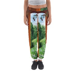 Beautiful World Entry Door Fantasy Women s Jogger Sweatpants