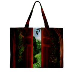 Beautiful World Entry Door Fantasy Zipper Mini Tote Bag