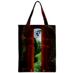 Beautiful World Entry Door Fantasy Zipper Classic Tote Bag