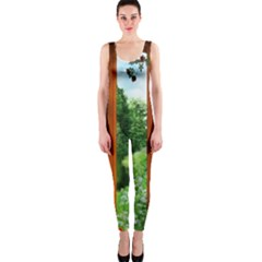 Beautiful World Entry Door Fantasy Onepiece Catsuit