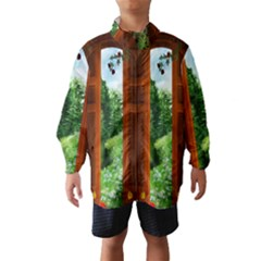 Beautiful World Entry Door Fantasy Wind Breaker (kids)
