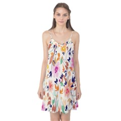Vector Floral Art Camis Nightgown