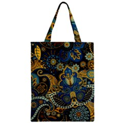 Retro Ethnic Background Pattern Vector Classic Tote Bag