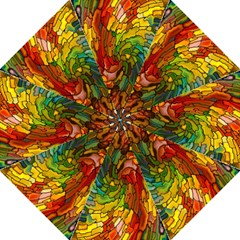Stained Glass Patterns Colorful Folding Umbrellas