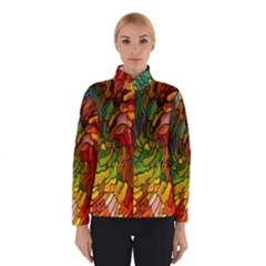 Stained Glass Patterns Colorful Winterwear