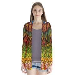 Stained Glass Patterns Colorful Cardigans