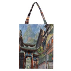 Japanese Art Painting Fantasy Classic Tote Bag