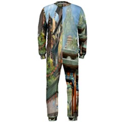 Japanese Art Painting Fantasy OnePiece Jumpsuit (Men)