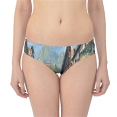 Japanese Art Painting Fantasy Hipster Bikini Bottoms