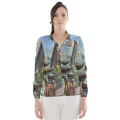 Japanese Art Painting Fantasy Wind Breaker (women)