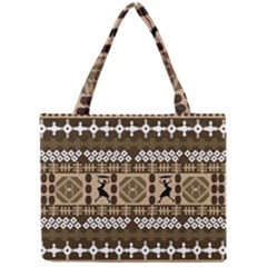 African Vector Patterns Mini Tote Bag