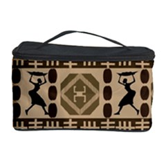 African Vector Patterns Cosmetic Storage Case