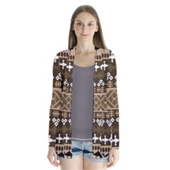 African Vector Patterns Cardigans