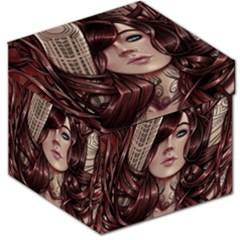 Beautiful Women Fantasy Art Storage Stool 12