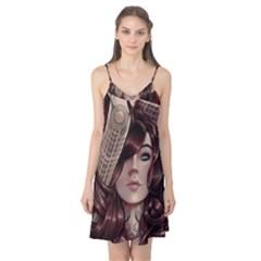 Beautiful Women Fantasy Art Camis Nightgown