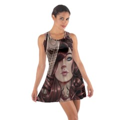 Beautiful Women Fantasy Art Cotton Racerback Dress