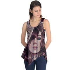 Beautiful Women Fantasy Art Sleeveless Tunic