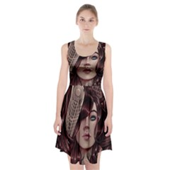 Beautiful Women Fantasy Art Racerback Midi Dress