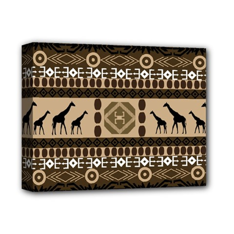 African Vector Patterns  Deluxe Canvas 14  X 11