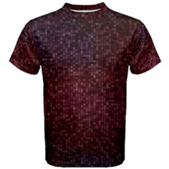 3d Tiny Dots Pattern Texture Men s Cotton Tee