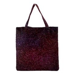 3d Tiny Dots Pattern Texture Grocery Tote Bag