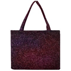 3d Tiny Dots Pattern Texture Mini Tote Bag