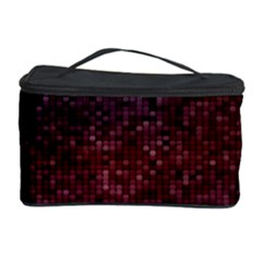3d Tiny Dots Pattern Texture Cosmetic Storage Case