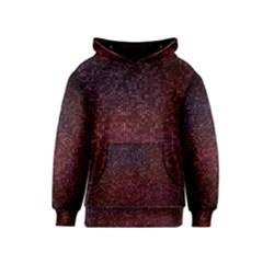 3d Tiny Dots Pattern Texture Kids  Pullover Hoodie