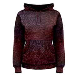 3d Tiny Dots Pattern Texture Women s Pullover Hoodie
