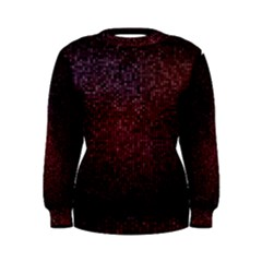 3d Tiny Dots Pattern Texture Women s Sweatshirt