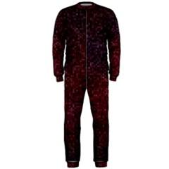 3d Tiny Dots Pattern Texture Onepiece Jumpsuit (men)