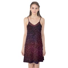 3d Tiny Dots Pattern Texture Camis Nightgown