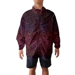 3d Tiny Dots Pattern Texture Wind Breaker (Kids)