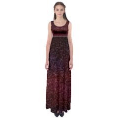3d Tiny Dots Pattern Texture Empire Waist Maxi Dress