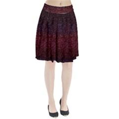 3d Tiny Dots Pattern Texture Pleated Skirt