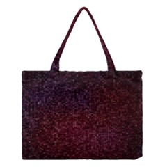 3d Tiny Dots Pattern Texture Medium Tote Bag