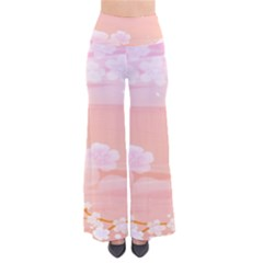 Season Flower Floral Pink Pants