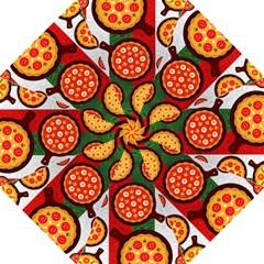 Pizza Italia Beef Flag Golf Umbrellas