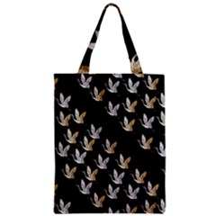 Goose Swan Gold White Black Fly Zipper Classic Tote Bag