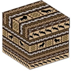 African Vector Patterns  Storage Stool 12