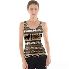 African Vector Patterns  Tank Top