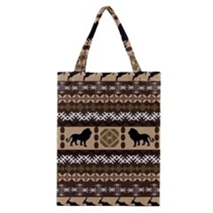 African Vector Patterns  Classic Tote Bag