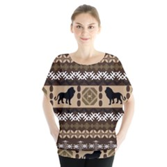 African Vector Patterns  Blouse