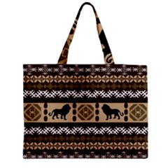 African Vector Patterns  Medium Tote Bag