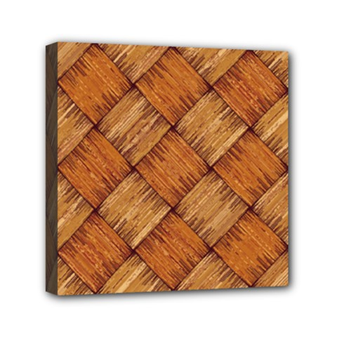 Vector Square Texture Pattern Mini Canvas 6  X 6