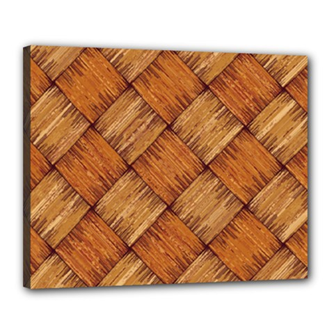 Vector Square Texture Pattern Canvas 20  X 16