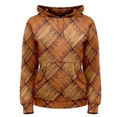 Vector Square Texture Pattern Women s Pullover Hoodie