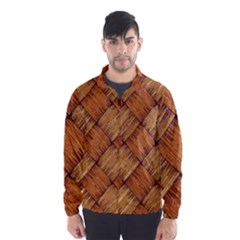 Vector Square Texture Pattern Wind Breaker (Men)